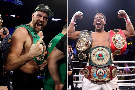 Tyson Fury, Anthony Joshua (Photo Credit: AP)