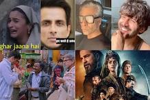 Sonu Sood's Hilarious Meme Featuring Alia Goes Viral, Kartik Aaryan Crashes Karan Johar's Insta Live