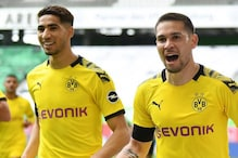 Raphael Guerreiro, Achraf Hakimi Score as Borussia Dortmund Ease Past Wolfsburg 2-0 to Stay in Bundesliga Title Hunt