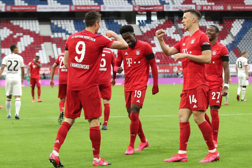 Bayern Munich See Off Eintracht Frankfurt Fightback to Stay Four Points Clear Atop Bundesliga