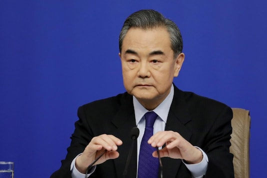 China's Foreign Minister Wang Yi attends a news conference during the ongoing National People's Congress (NPC), China's parliamentary body, in Beijing, China March 8, 2018. REUTERS/Jason Lee