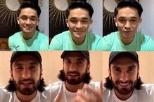 Sunil Chhetri and Ranveer Singh Bond over 'WWF', Deepika Padukone Makes a Cameo in Instagram Live