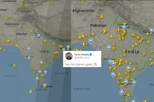 Before and After Pics of Lit Indian Airspace As Flights Finally Take Off Will Give You Hope
