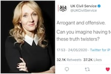 JK Rowling Wants to Pay One Year's Salary to Pranskter Who Trolled UK Govt on Twitter