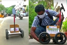 Engineer Creates Robotic Cart that Allows Him to Social Distance while Grocery Shopping