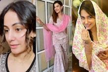 Hina Khan, Dipika Kakar, Gauahar Khan Celebrates Eid Festivities, See Pics