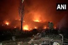 Massive Fire in Delhi's Tughlakabad Destroys 1,500 Shanties, Several Rendered Homeless