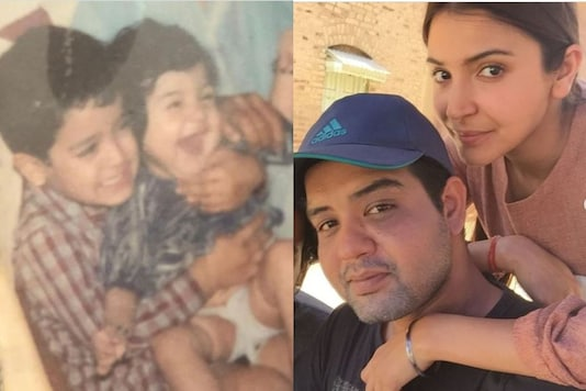 Anushka Sharma Flashing a Toothless Smile in Childhood Pic with Brother is Too Adorable to Miss