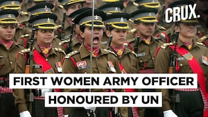 Indian Army Major To Be Honoured With UN Military Gender Advocate Award