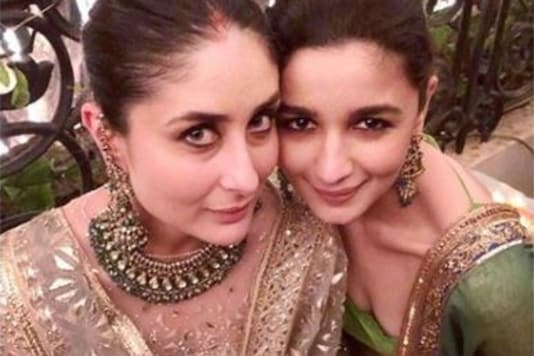 This Pic of Alia Bhatt with Her 'Favourite' Kareena Kapoor Spells Royalty, See Here