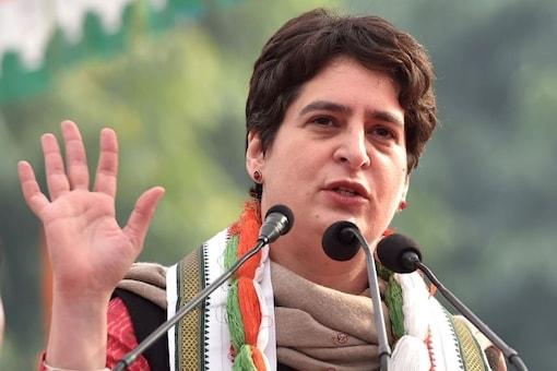 File photo of Congress general secretary Priyanka Gandhi Vadra.