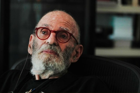 AIDS activist and author Larry Kramer poses for a portrait in his apartment in New York, US, June 24, 2019. REUTERS/Lucas Jackson