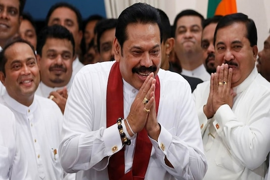 Sri Lankan Prime Minister Mahinda Rajapaksa completed 50 years in active politics on Wednesday. (File Photo: Reuters)