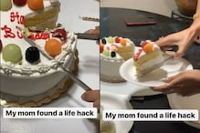 Internet Cannot Stop Talking About this TikTok Hack to Scoop Out a Perfect Cake Slice