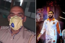 Kabaddi Legend Anup Kumar Hits The Streets in Police Uniform During Covid-19 Lockdown