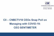 CNBC-TV18 - CII Snap Poll Results; CEOs Believe Demand Recovery by October