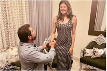 Pooja Batra Shares Romantic Throwback Picture of Nawwab Shah Proposing to Her at Home