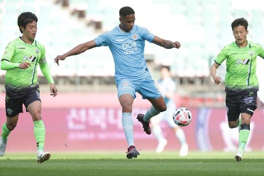 Daegu FC vs Sangju Sangmu (Photo Credit: K-League)