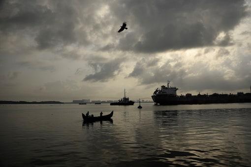 Rain clouds in Kochi, Kerala.  (AP Photo/R S Iyer)