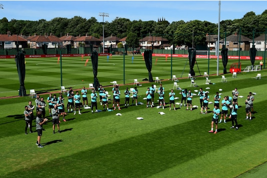 Photo from Liverpool training ground. (Photo Credit: Liverpool FC)