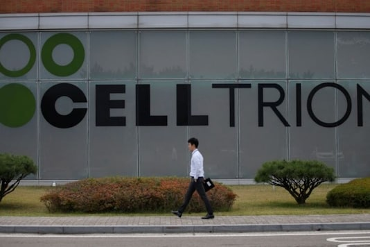 The logo of Celltrion is seen at the company's headquarters in Incheon, South Korea, October 28, 2016. REUTERS/Kim Hong-Ji/Files