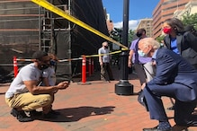 Democrat Joe Biden Visits Site of Police Brutality Protest in Delaware