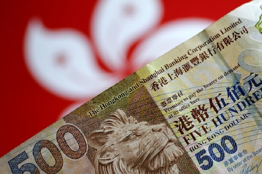 A Hong Kong dollar note is seen in this illustration photo May 31, 2017.     REUTERS/Thomas White/Illustration/Files