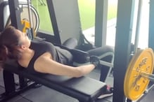 Urvashi Rautela Works Out With 80-kilo Weights, Watch Video