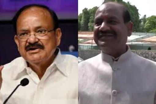 File photos of PS Chairman Venkaiah Naidu and Lok Sabha Speaker Om Birla.