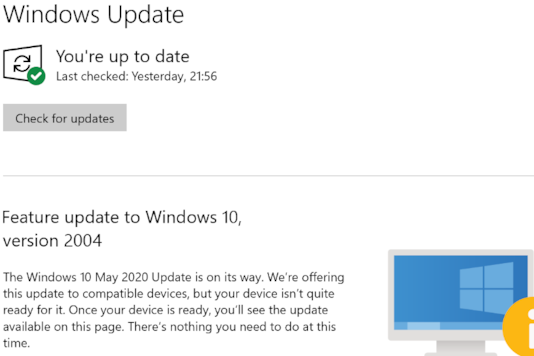 You Will be Warned if Windows 10 May 2020 Update Can Cause Problems With Your PC