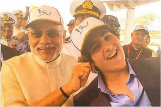 Aarav Bhatia and Narendra Modi