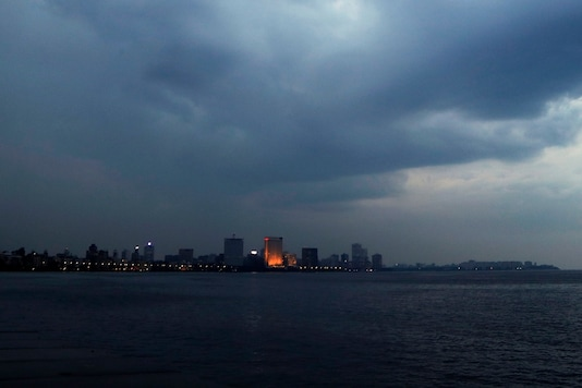 Rain clouds fill the sky on the Arabian Sea coast in Mumbai. (Representational Image: AP)
