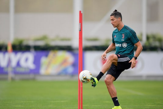 Cristiano Ronaldo (Photo Credit: @juventusfcen)