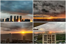Mumbaikars Fill Twitter with Breathtaking Tangerine Skies as They Escape Cyclone Nisarga