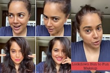 Sameera Reddy Goes For A Look Change In Her 'Lockdown Bun To Fun Makeup' IGTV Session
