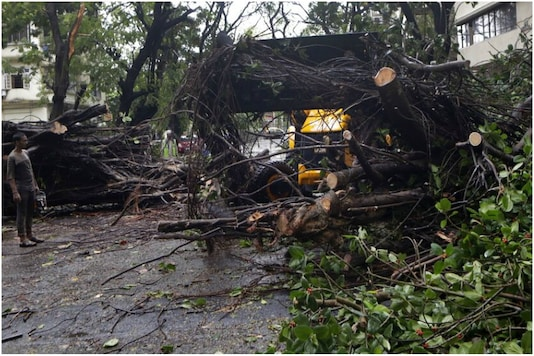 Cyclone Nisarga caused considerable damage to parts of Pune.