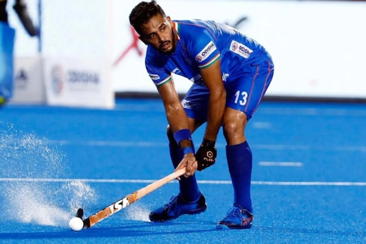 Harmanpreet Singh (Photo Credit: Hockey India)