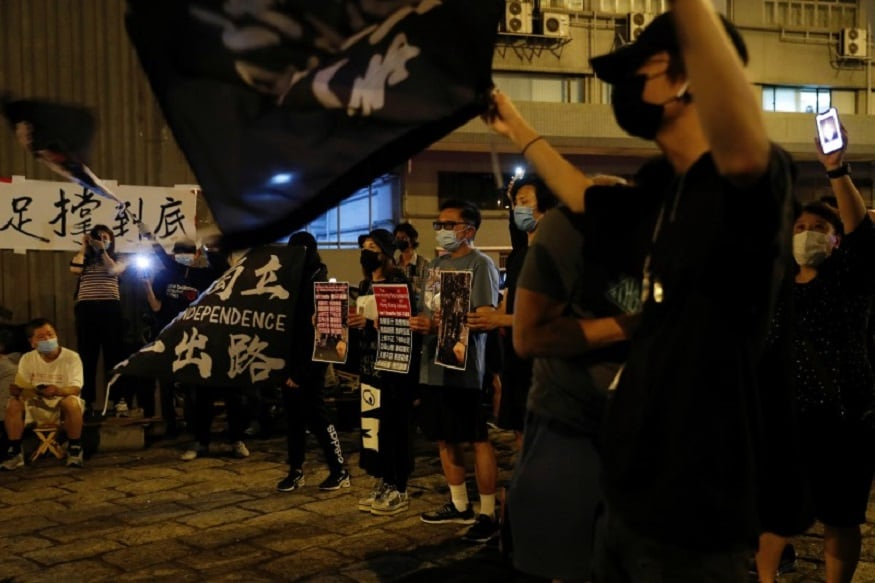 Dozens Arrested as Hong Kongers Protest Planned National Security Laws 2