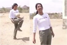 Here's a Video of Priyanka Chopra Attempting Freestyle Football