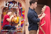 Asim Riaz Shares First Official Poster of New Single With Himanshi Khurana