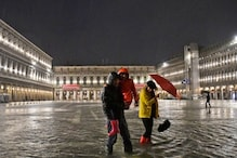 Venice Flooded by Unusual High Tide, Third Highest for June