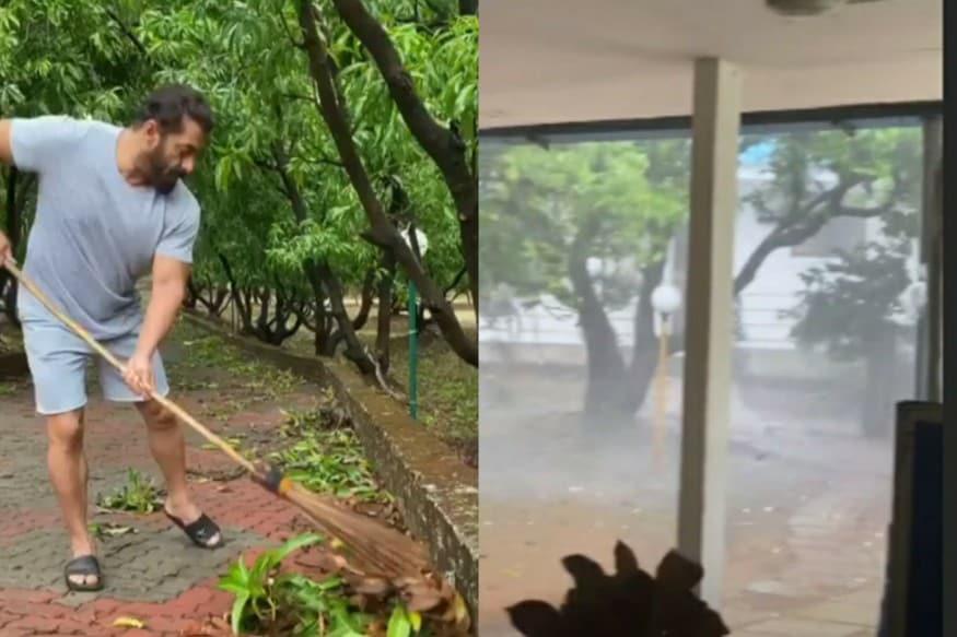 Salman Khan S Panvel Farmhouse Affected By Cyclone Nisagra Iulia Vantur Shares Pics