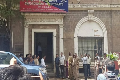 File photo of Enforcement Directorate office