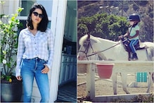 So Proud Of You, Nisha: Sunny Leone Posts Adorable Pic Of Her Daughter Taking Horse-riding Lesson