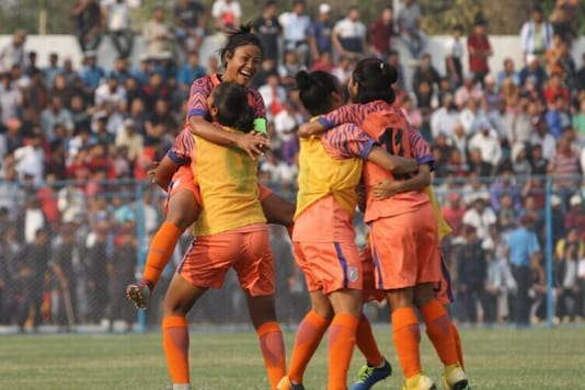 Indian women's football team (Photo Credit: AIFF)