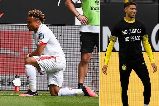 Mainz's Pierre Kunde Malong Borussia Dortmund (Photo Credit: Twitter)