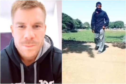 David Warner and Arman Rathod