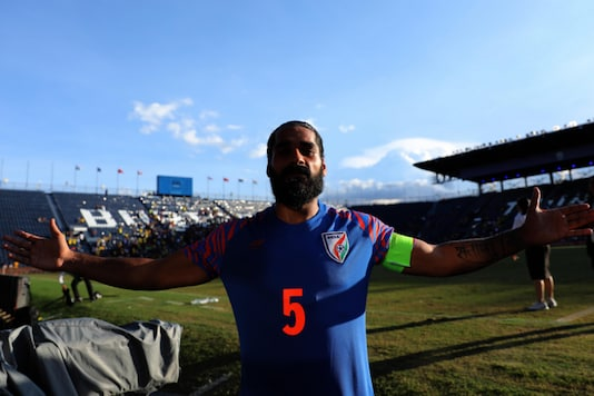 Sandesh Jhingan (Photo Credit: AIFF Media)