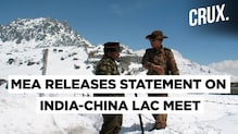 India And China Agree To Peacefully Resolve Border Stand-off: MEA