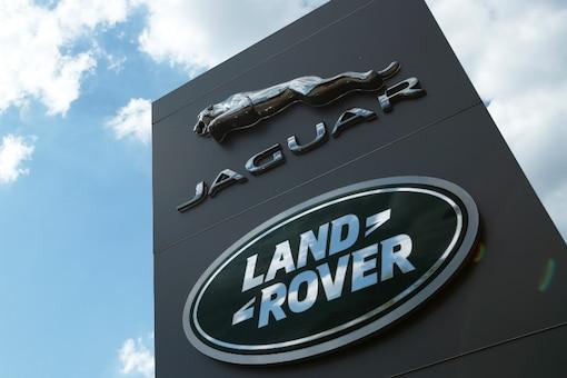 The Jaguar Land Rover logo. (Image: Reuters)